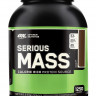Гейнер Optimum nutrition Serious Mass, шоколад, 2727 г