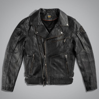 Куртка мужская VINTAGE JACKET LEATHER Черный