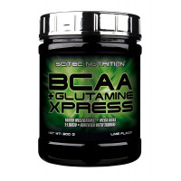 BCAA Scitec Nutrition BCAA + Glutamine Xpress, яблоко, 300 г